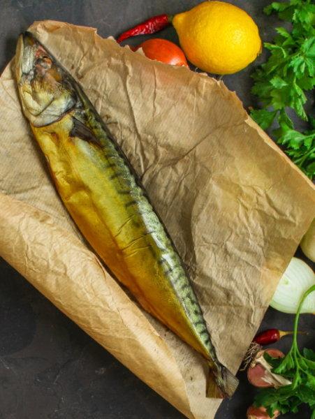 Makrelen (geräuchert) ganz